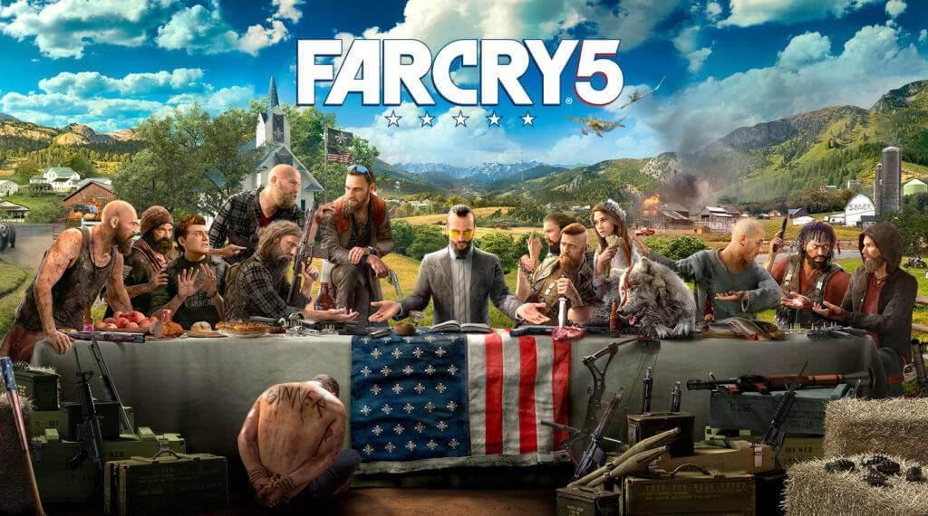 Far Cry 5 PS4 เกม