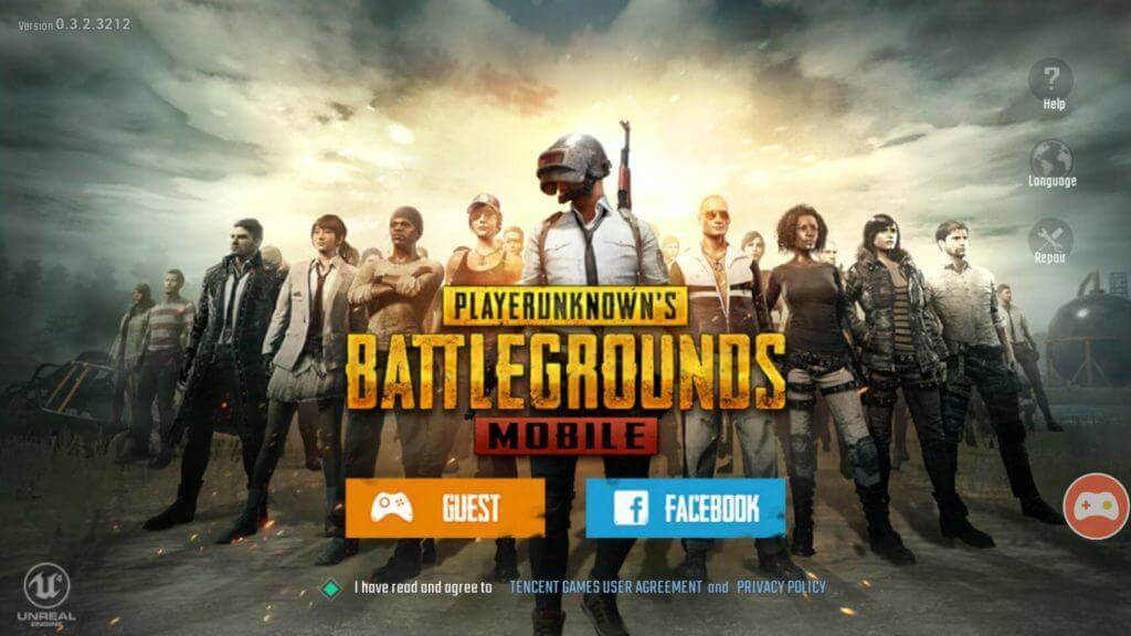 Battlegrounds Mobile เกม